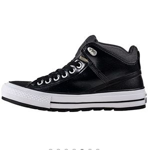 Mens Chuck Taylor All Star Street Mid Sneakerboots
